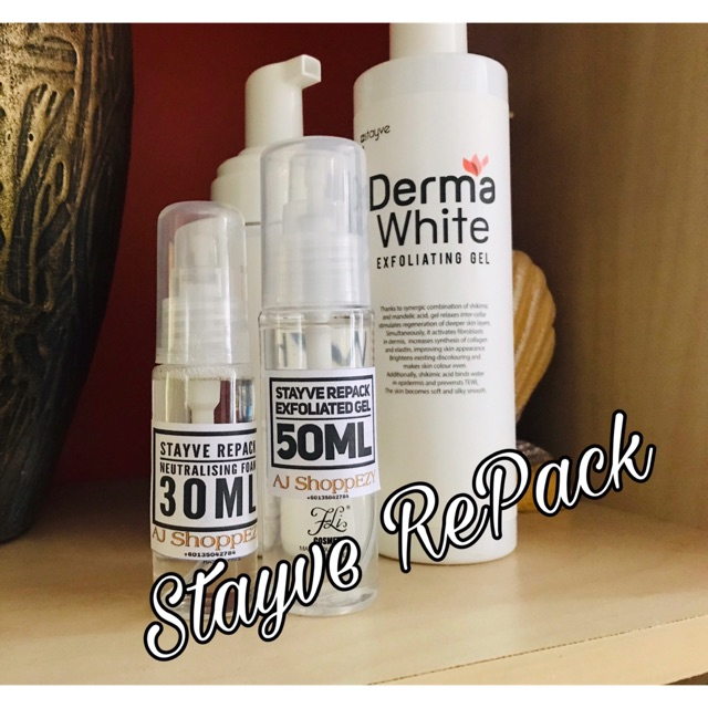 Stayve REPACK Exfoliated Gel & Neutralising Foam (price for 1Set)