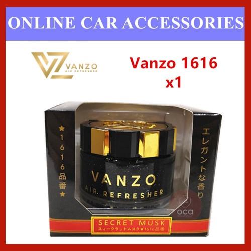 Vanzo 1616 Secret Musk Black Gold Gel Type Car Air freshener Perfume (65ml)