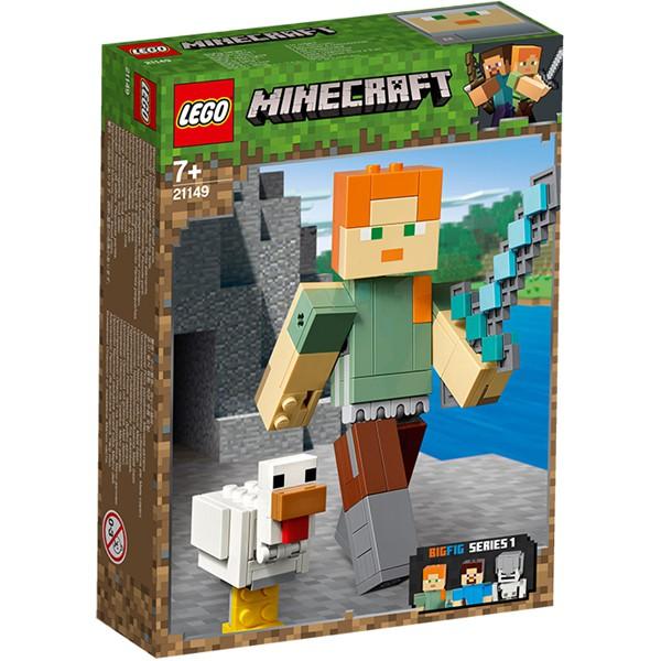 LEGO Minecraft 21149 - Minecraft Alex BigFig with Chicken