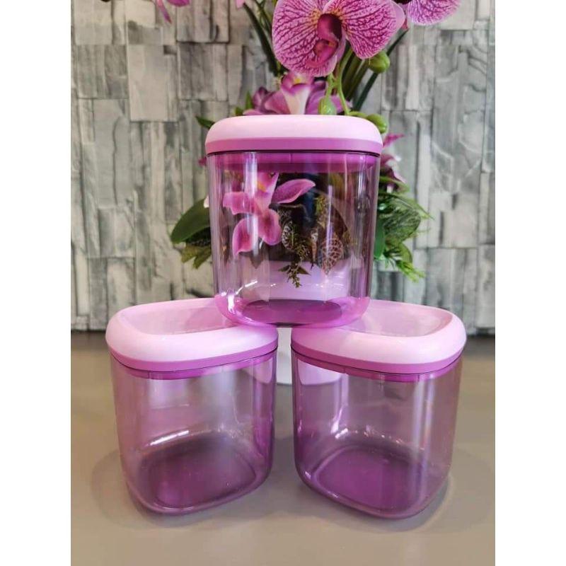 crystalline canister tupperware (1) 780ml