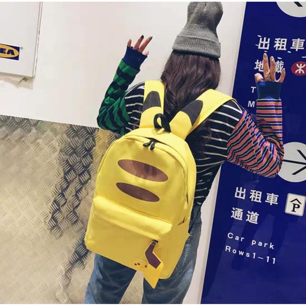 Cute Yellow Pika Bag Backpack