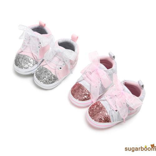 ac6859126e Sgm☆Fashion Kids Girls Baby Soft Sole Shoes Toddler Princess Infant ...