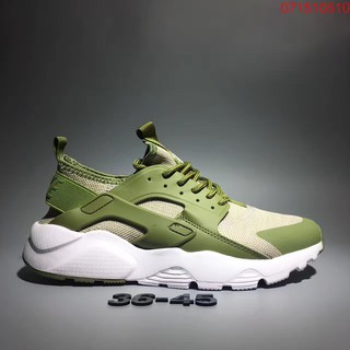 aa26c5e3582 AUTHENTIC NIKE AIR HUARACHE RUN PREMIUM Green Men/Women Sneakers Size 3