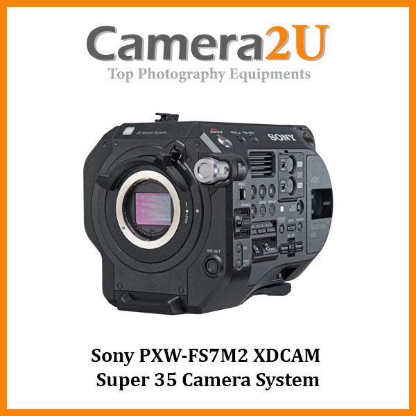 Sony PXW-FS7 Mark II MK2 XDCAM Super 35 Camcorder Camera (Sony MSIA)