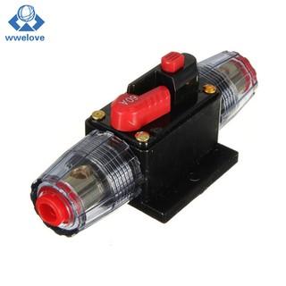 20-100A 12V Car Truck Audio Amplifier Circuit Breaker Fuse
