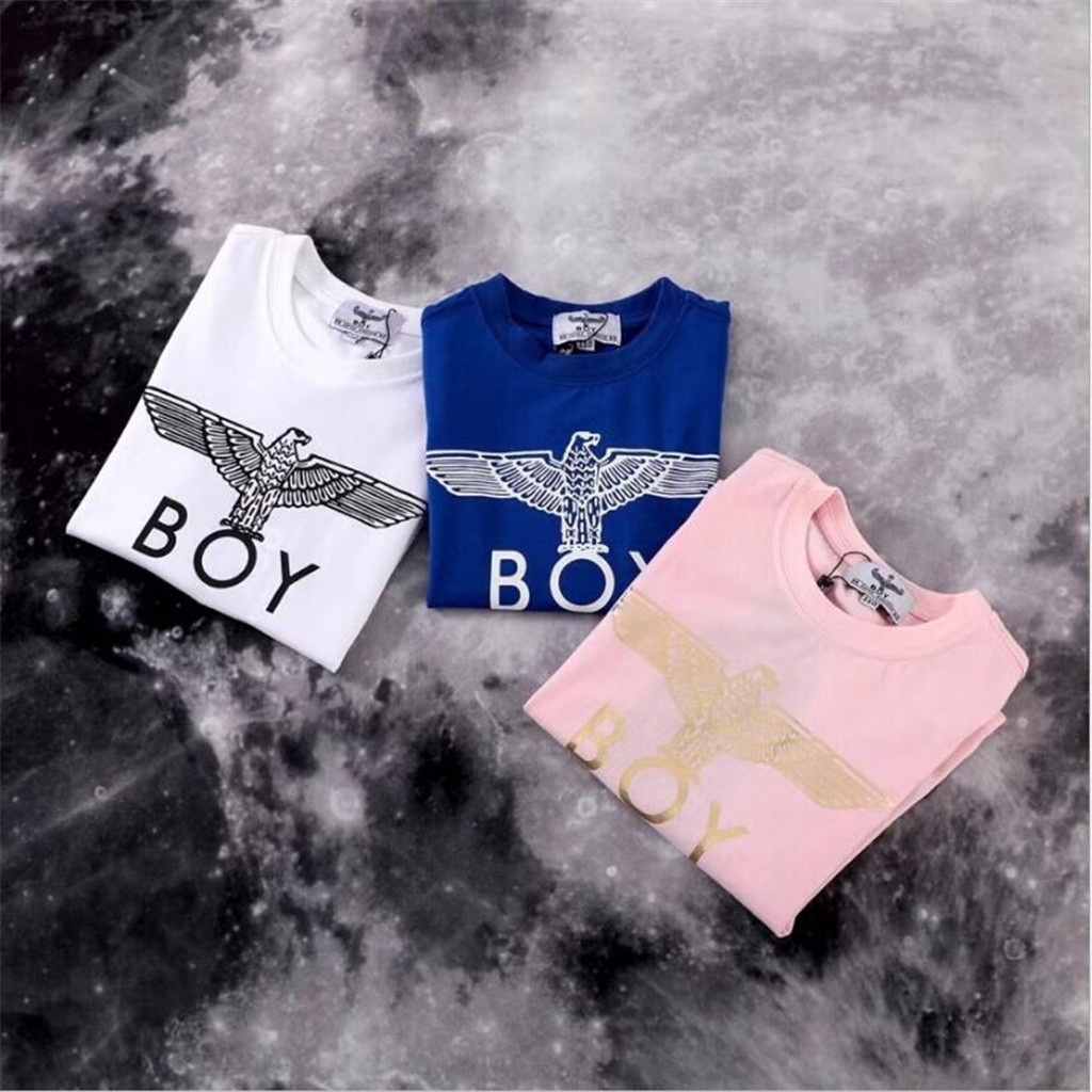 6876a142e6ae Eagle print boys and girls top summer kids T-shirt cotton kids T-shirt  fashion