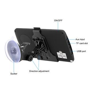 KKmoon 7inch HD Touch Screen Car GPS Navigator Player Car