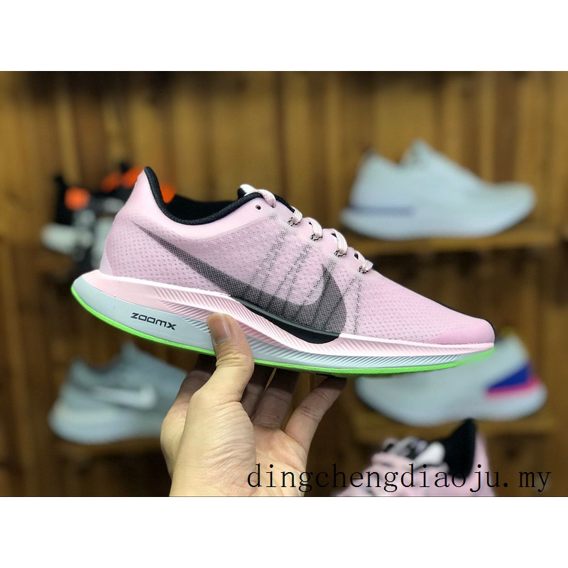new styles cc880 2b3dc 2019 New Nike Zoom Pegasus Turbo 35 Women Pink Running sport shoes