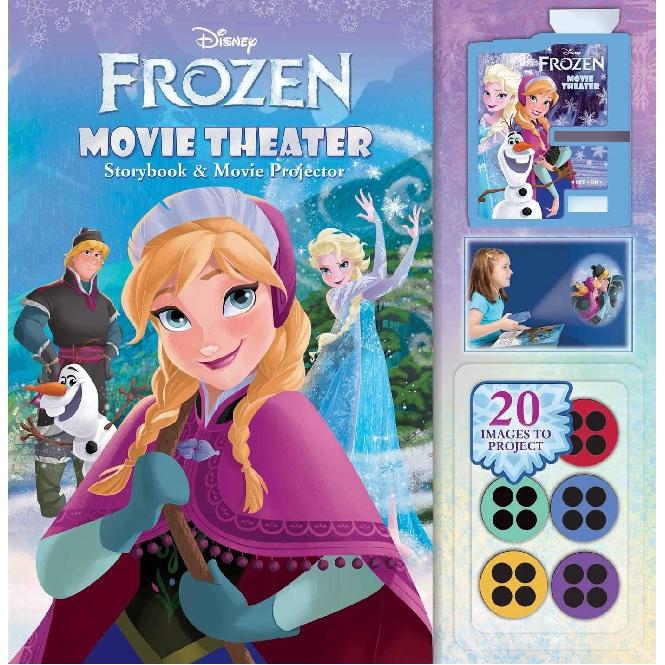 Disney Frozen Movie Theater: Storybook & Movie Projector Author: :Reader's Digest ISBN: 9780794428952 (MPH)