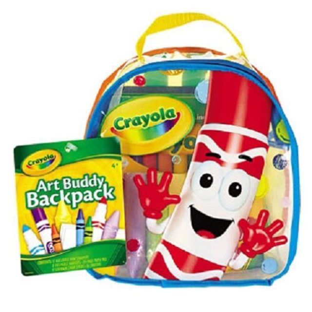 พร้อมส่ง!! Crayola Art Buddy Backpack