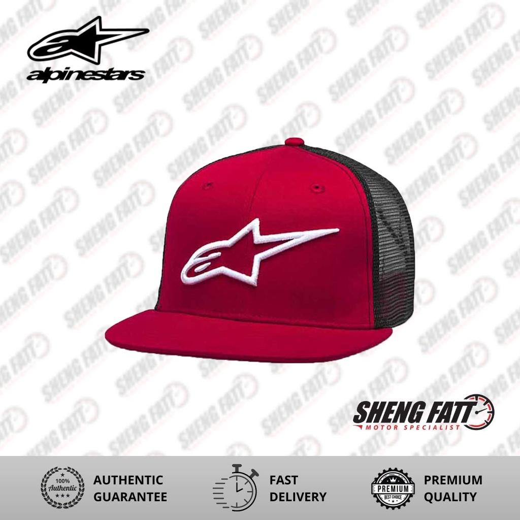 Alpinestars Corp Trucker Cap (Red/Black)