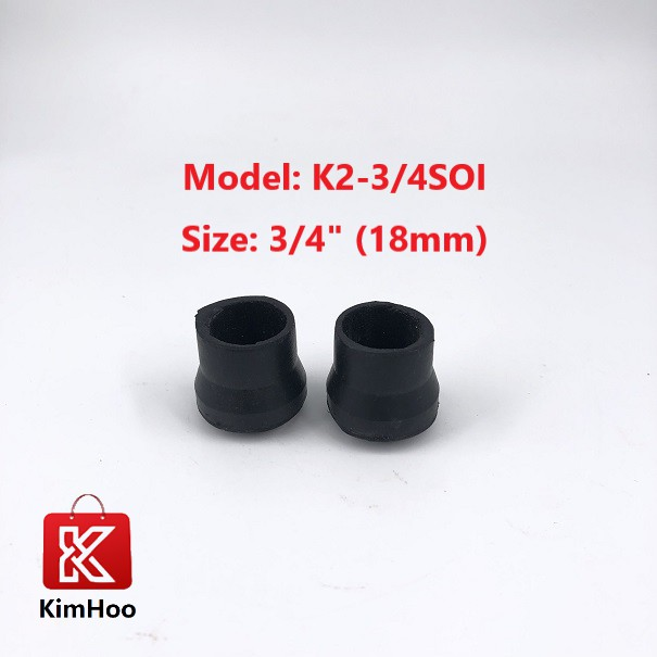 READY STOCK 6/8 Inch Rubber Round Stopper for Chair Legs 18mm