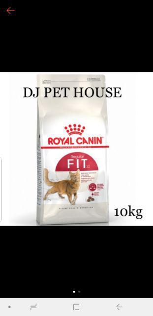 Royal Canin Fit 32 10kg Shopee Malaysia