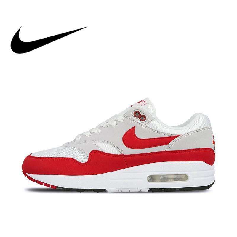 Jixde brandnew Nike AIR MAX 1 ANNIVERSARY Original Authentic Mens Running S