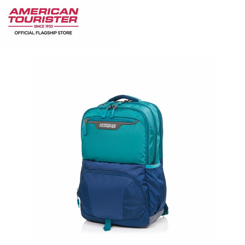 American Tourister-SCOUT-BACKPACK 4 TEAL/NAVY