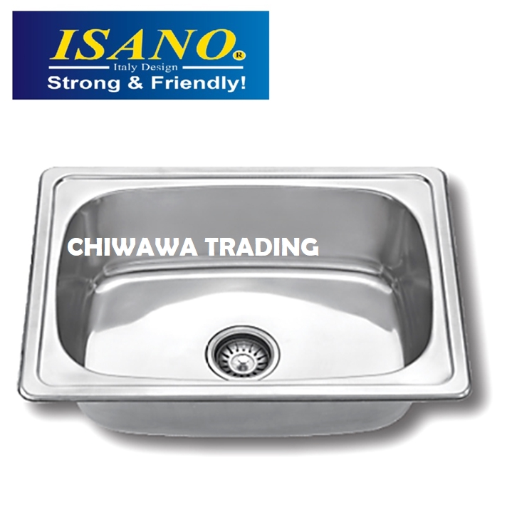 ISANO B660 Stainless Steel Kitchen Sink Bowl Basin Drainer