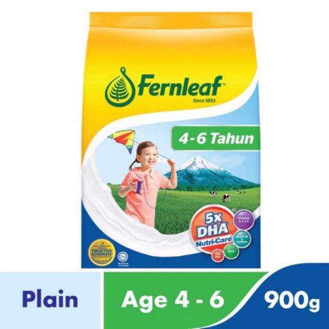 Fernleaf 4-6 Years 900G