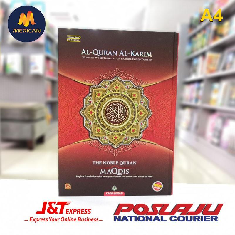 ⚠️ READY STOCK ⚠️ AL QURAN MAQDIS ENGLISH TRANSLATION (A4)