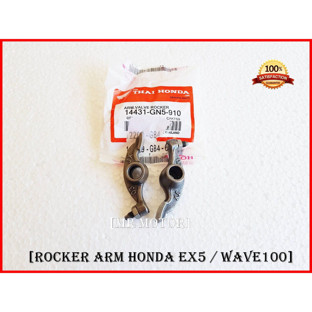 [2pcs] Rocker Arm Honda Ex5 , Wave100 OEM Thailand