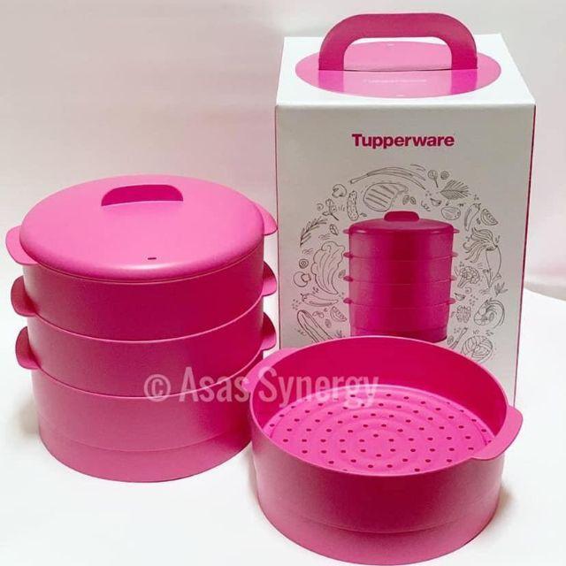 Steam It Pink Tupperware