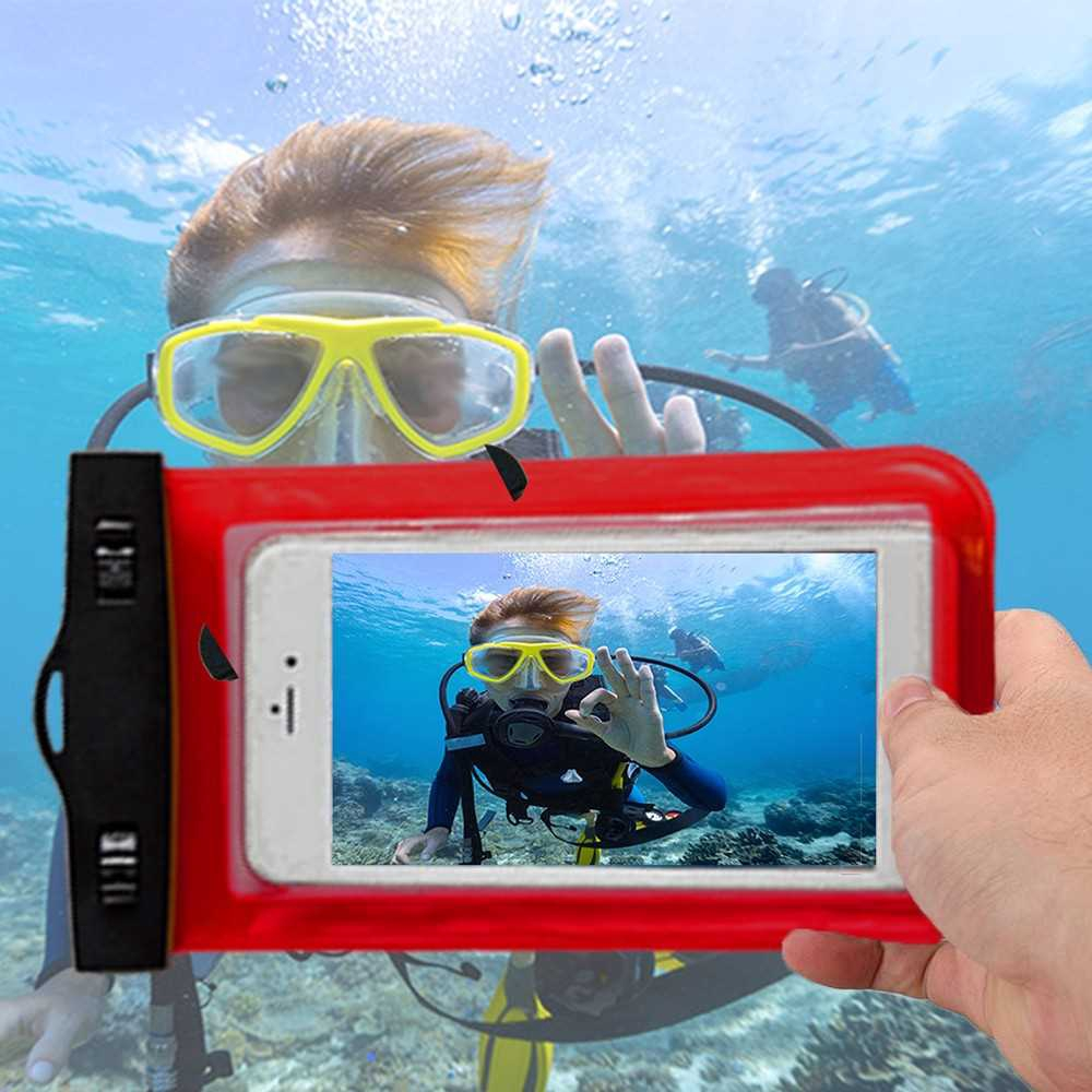 Underwater Cellphone Dry Bag Case (Green)