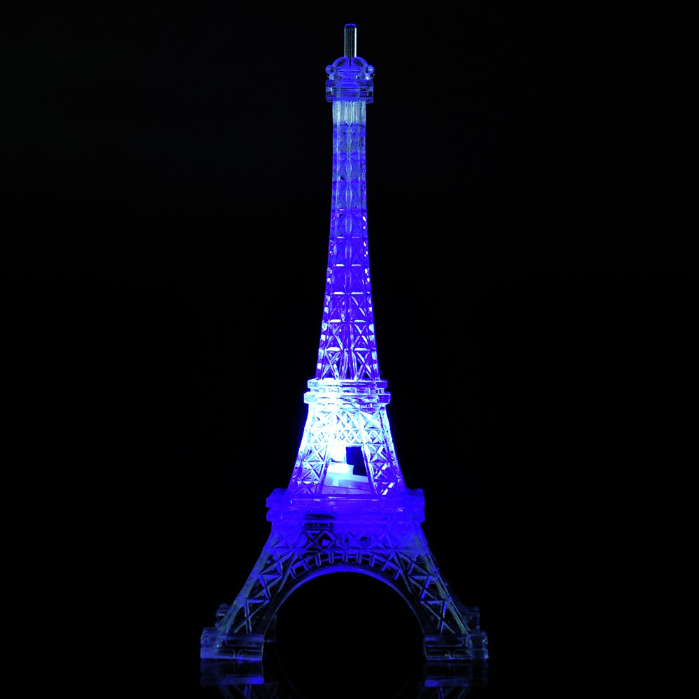 Eiffel Tower 3D LED 7 Color Change Night Lights Bedroom Birthday Gift
