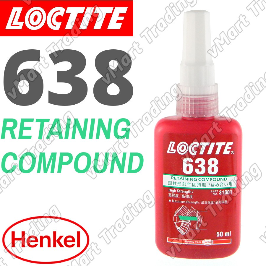 Loctite 638 Retaining Compound 50ml Shopee Malaysia