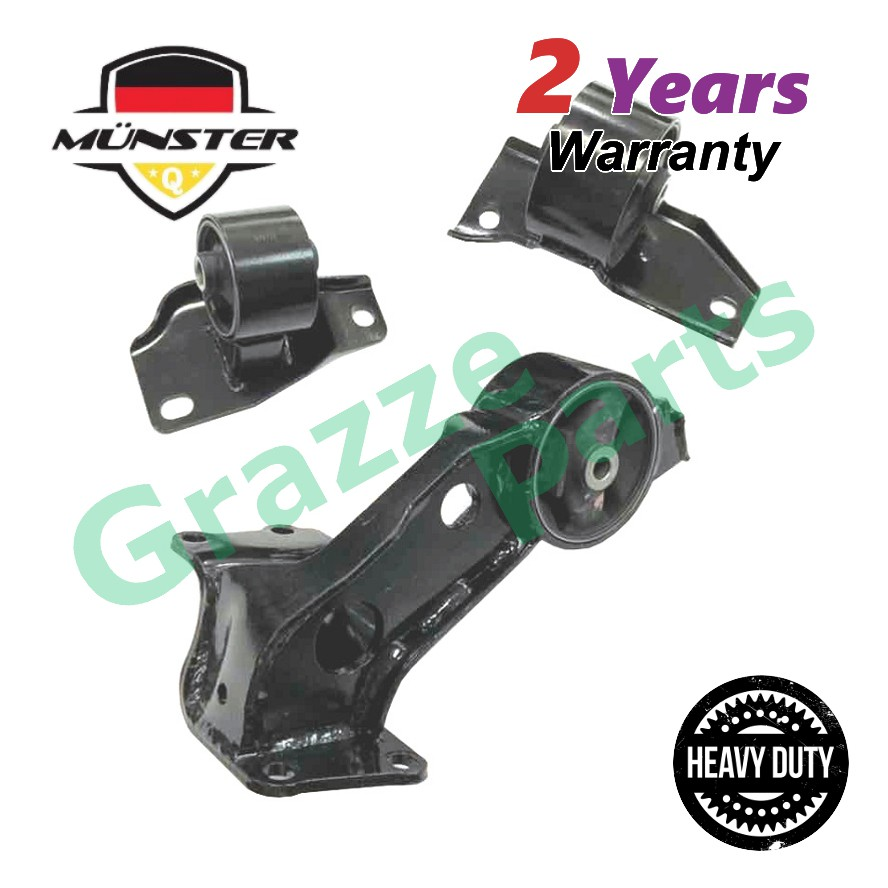 """Münster """"Heavy Duty"""" PER7471 Engine Mounting for Set Perodua Kancil Auto & Manual Transmission"""