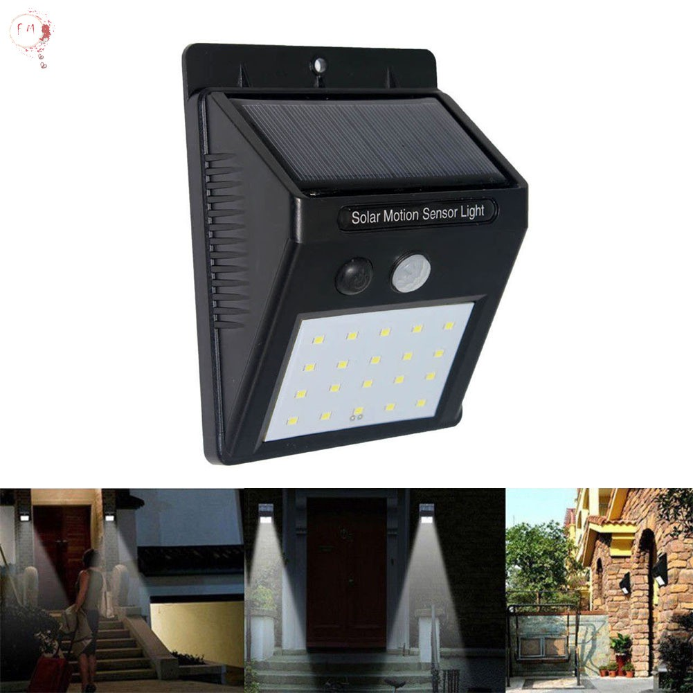 Led Outdoor Wall Lamps Led Lamps Realistic Outdoor Motion Sensor Solar Powered Led Pole Wall Street Path Solar Light For Garden 3 Working Mode Solar Lamp 20w 40w 60w