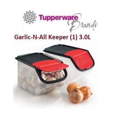 TUPPERWARE GARLIC-N-ALL KEEPER 3L(1)
