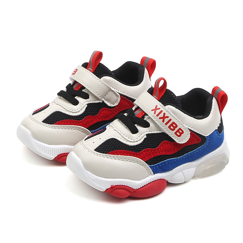 ONEYUAN Children Baby Bear Rainbow Color Kid Casual Lightweight Sport Shoes Sneakers Running Shoes