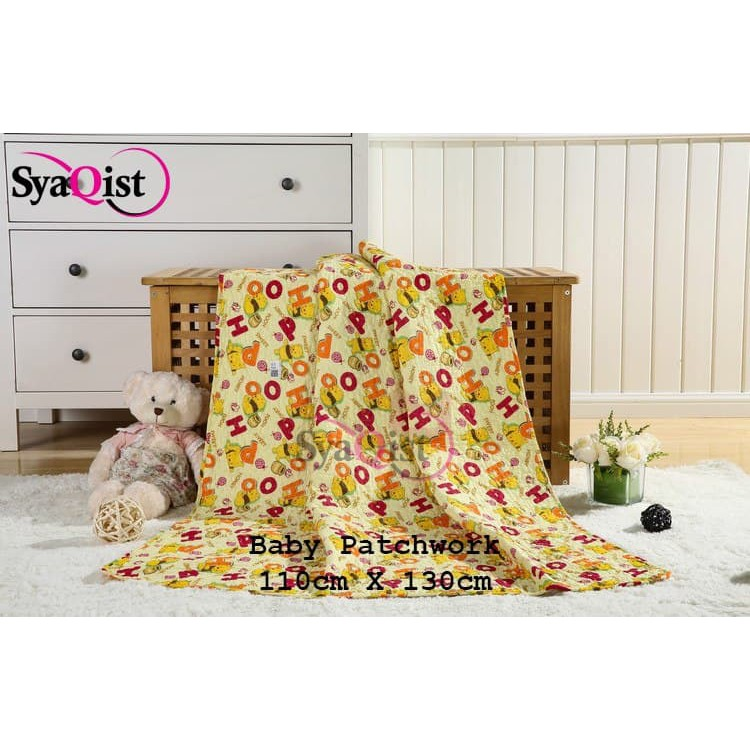 [READY STOCK] BABY PATCHWORK BLANKET . 100% FULL COTTON