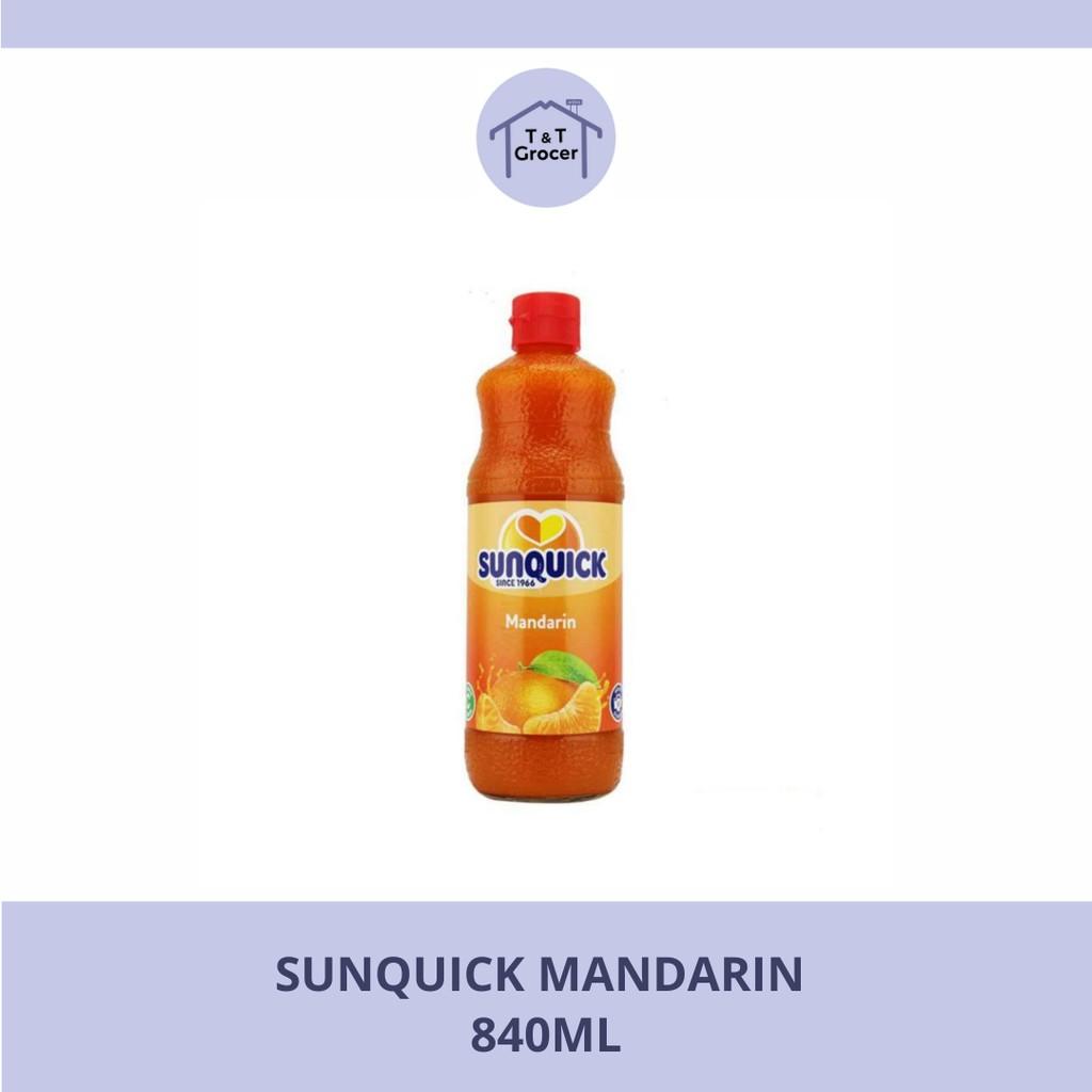 SUNQUICK 840ml (Mandarin/ Mango/ Oren/ Tropika)