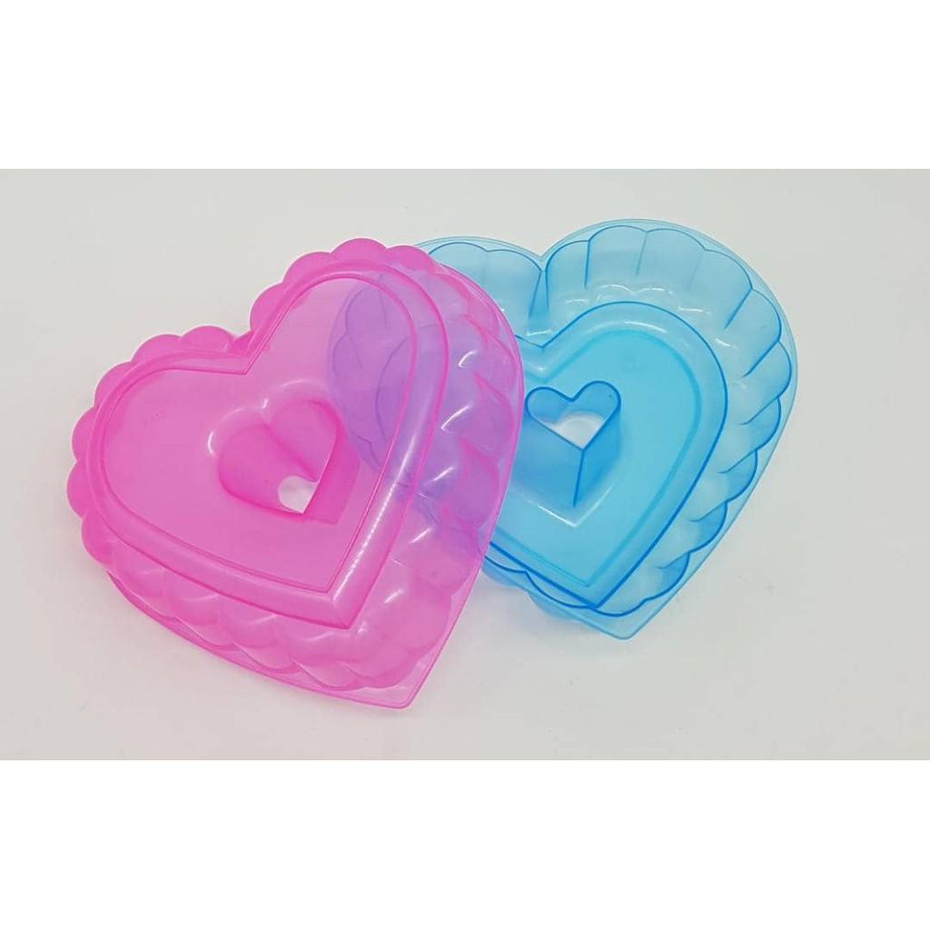20cm Acuan Heart Shape Jelly Mould