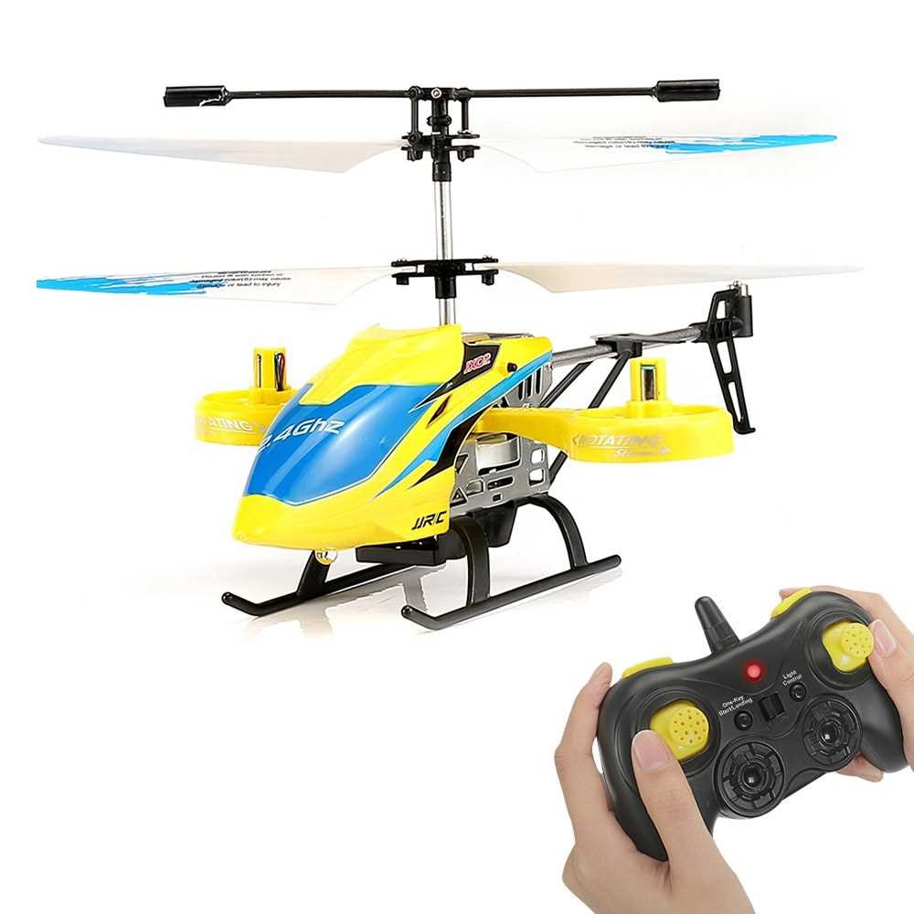 JJR/C JX02 RC Helicopter 2.4G 4CH Metal Alloy Altitude Hold Hovering Aircraft