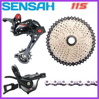 For SENSAH Rear Derailleur 11 Speed Short Cage Road Bike Derailleur Carbon Cage