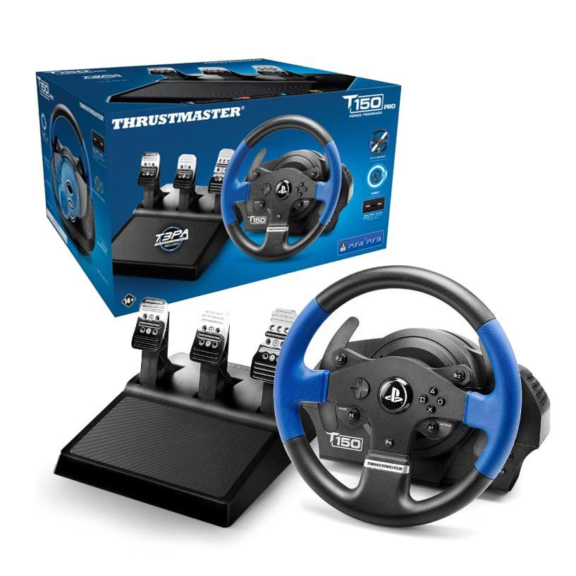 cb49d089301 Thrustmaster T150 Pro Racing Wheel for PS4, PS3 and PC | Shopee Malaysia