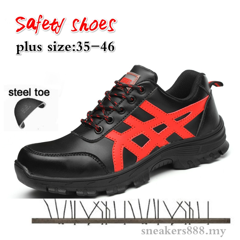 Mens Labor Insurance Puncture Proof Shoes Men Safety Work Boots Casual Shoes Toe