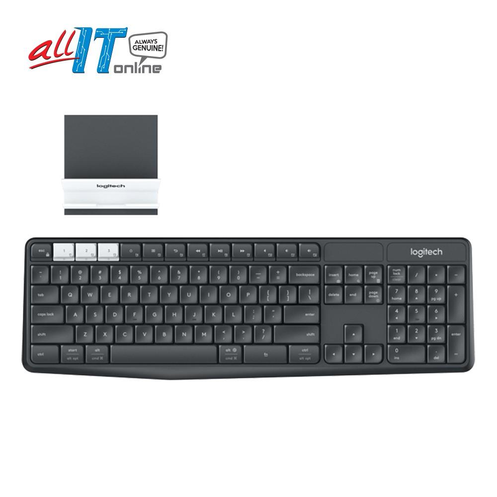 Logitech Mk235 Wireless Keyboard Mouse Combo Shopee Malaysia Mk220 Original
