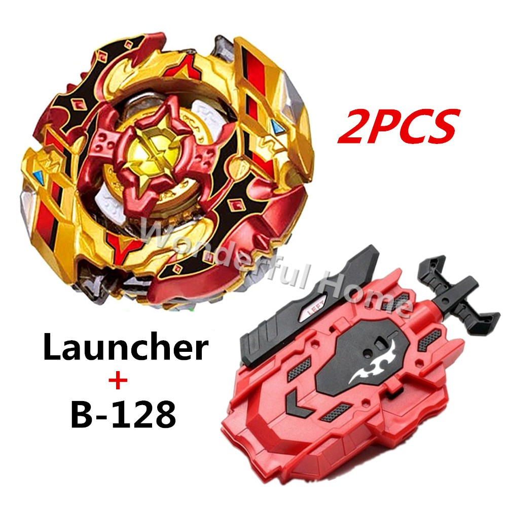 CHO Z SPRIGGAN Beyblade BURST B-128 01+Red String LR Launcher B-88 TOY