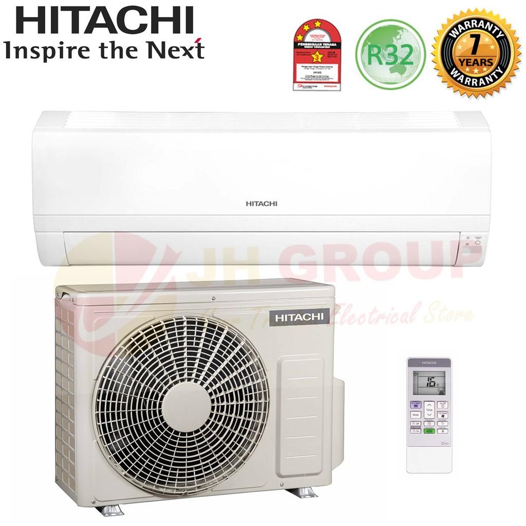 New Hitachi Ras Eh10ckm Rac Eh10ckm 1hp R32 Standard Air Cond Shopee Malaysia