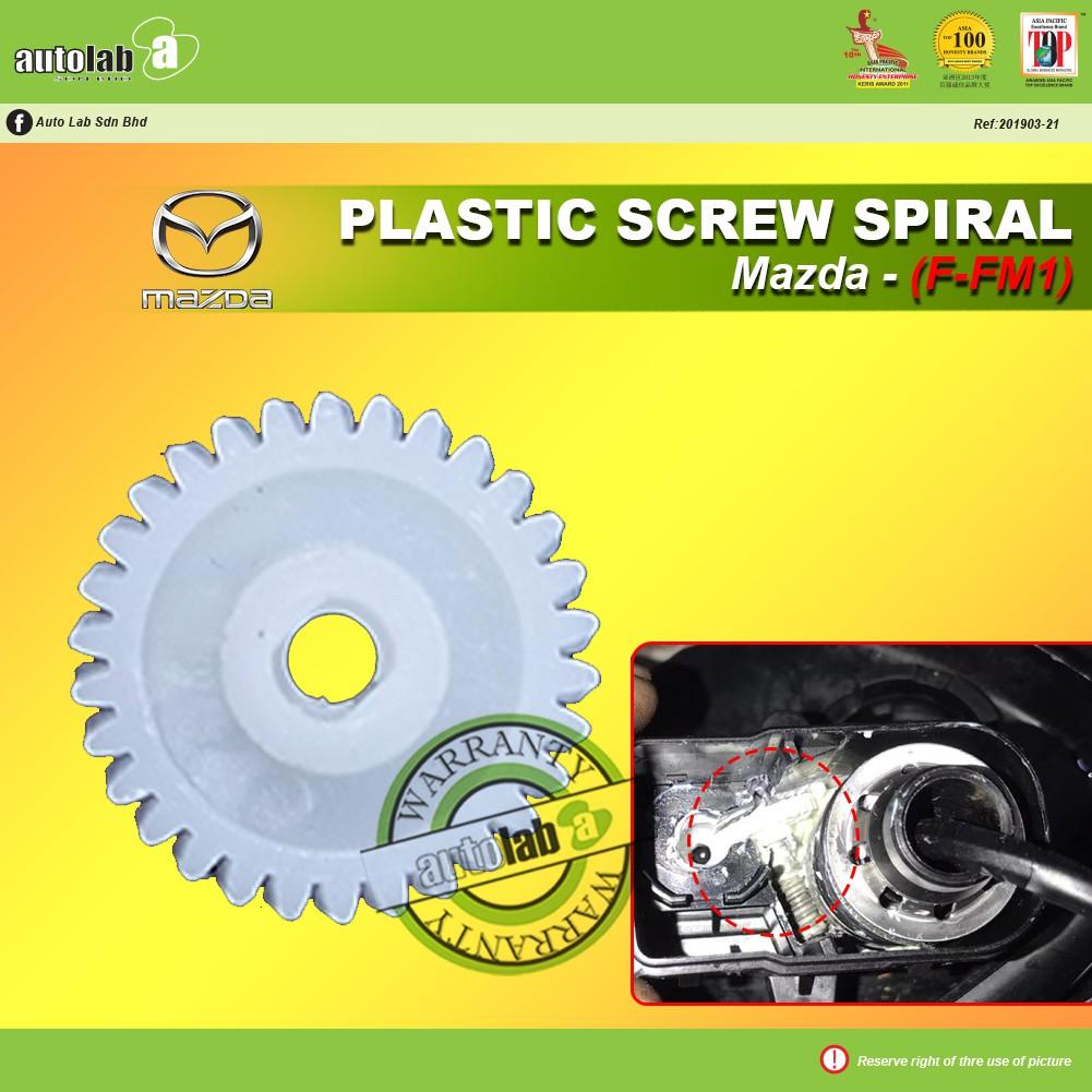 Side Mirror Replacement Plastic Screw Spiral (1 pcs) - Mazda (F-FM1)