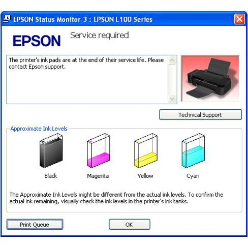 Waste Ink Pad Resetter Epson