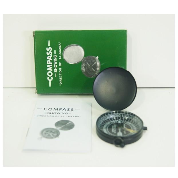 Kompas Arah kiblat Dengan Kotak