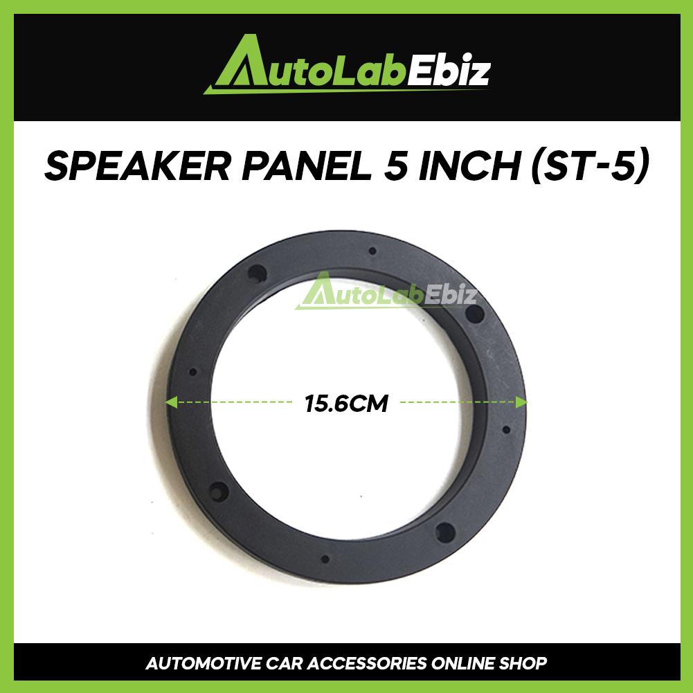 Car Door Speaker Panel Cover Trim Car (2pcs) For Universal 5 inch