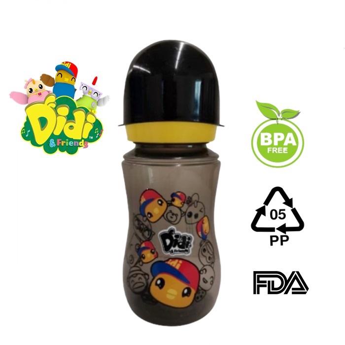 Didi & Nana Wide Neck Feeding Bottle 12oz - Botol Susu