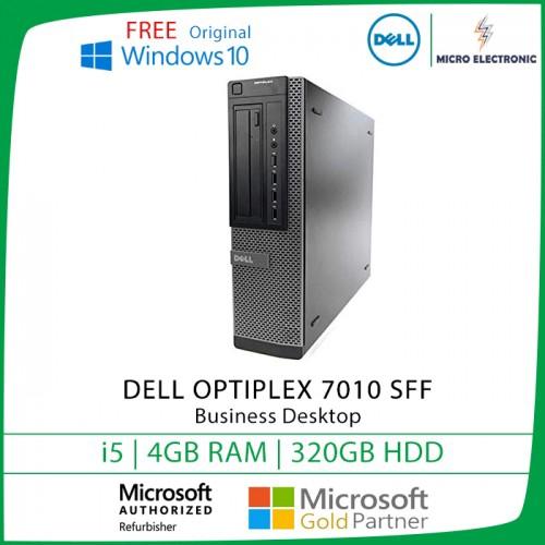 Dell Optiplex 7010 Business Desktop i5 4GB 320GB HDD Windows 10  [Refurbished]
