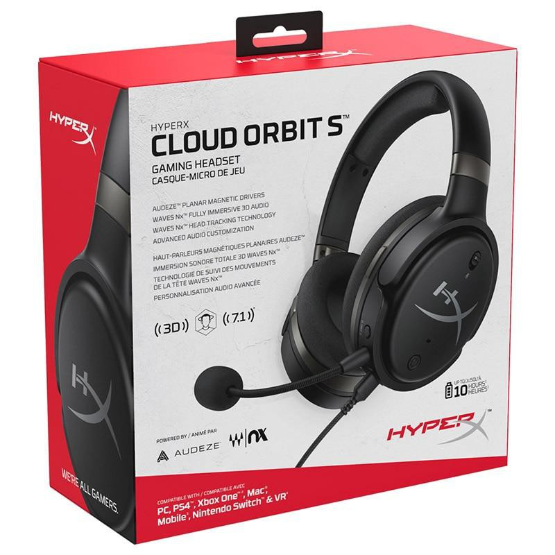 {HX-HSXOS-GM/WW} HYPERX Cloud Orbit S with 3D Head Tracking Technology for Xbox.PC.PS,NS