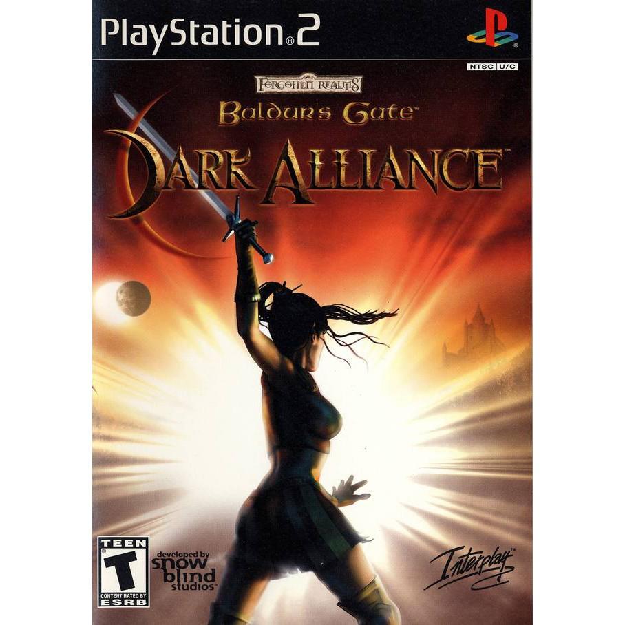 PS2  Baldur's Gate : Dark Alliance / Dark Alliance 2[Burning Disk]