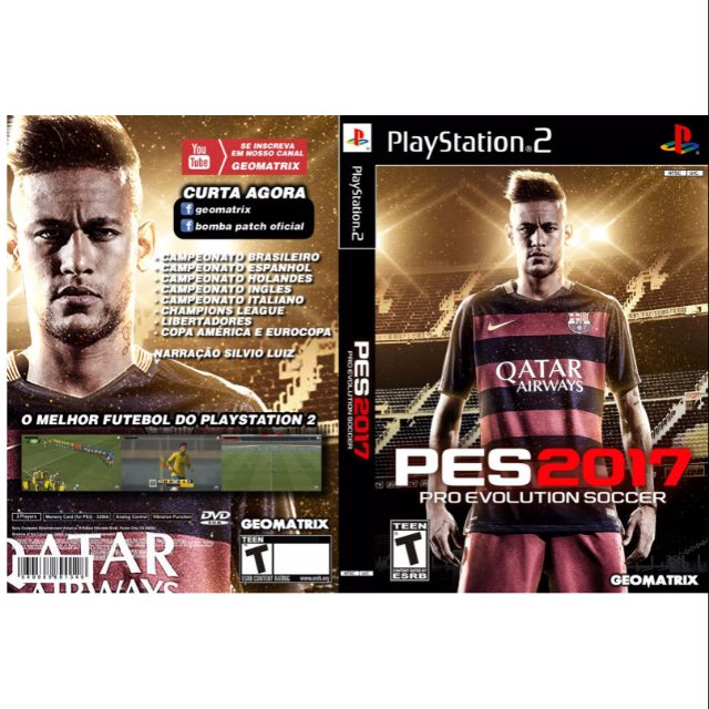 PS2 Games CD Collection PES 2017
